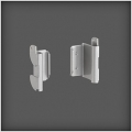 Fittings for Utility Track set of 2