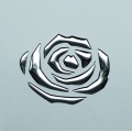 PL 3D ROSES Silver PF met/Silver